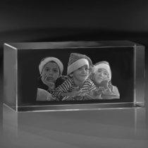 Kristallblock 100x100x200 mm (3 ansikten)