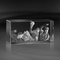 Kristallblock 100x100x200 mm (4 ansikten)