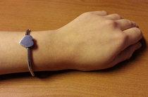 Berlockarmband 'Artemis'  + en hjärtformad berlock med din text