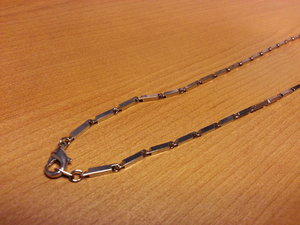 Necklace Nickel Plated 2,5x910mm