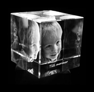 Cube 80x80x80 mm (1 face)