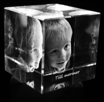 Cube 100x100x100 mm (1 face)