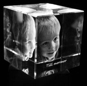 Cube 100x100x100 mm (1 face)