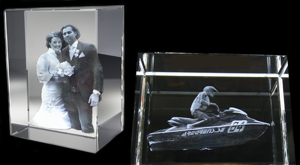 Crystal Block Prestige 150x200x100 mm (1 face)