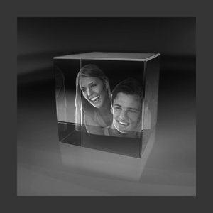 Cube 80x80x80 mm (2 faces)