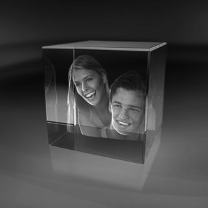 Cube 100x100x100 mm (2 faces)