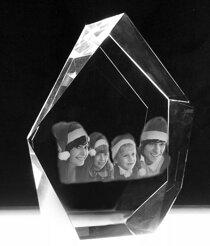 Kristallblock Iceberg Large171x132x61 mm (4 ansikten)