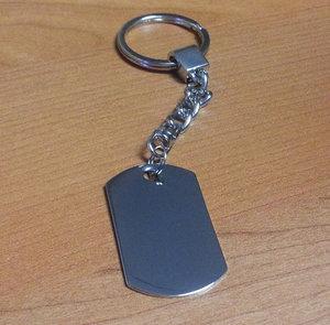 Nyckelhållare Bricka 24x40x1.2mm