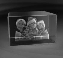 Crystal Block 120x80x80 mm (3 faces)